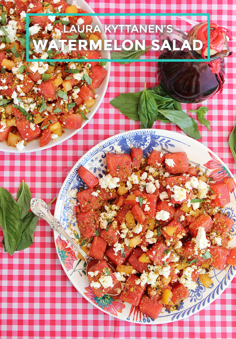 Laura Kyttanen's Watermelon Salad recipe.