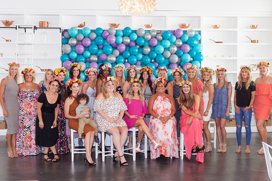The most magical baby shower in Chicago at Brique.