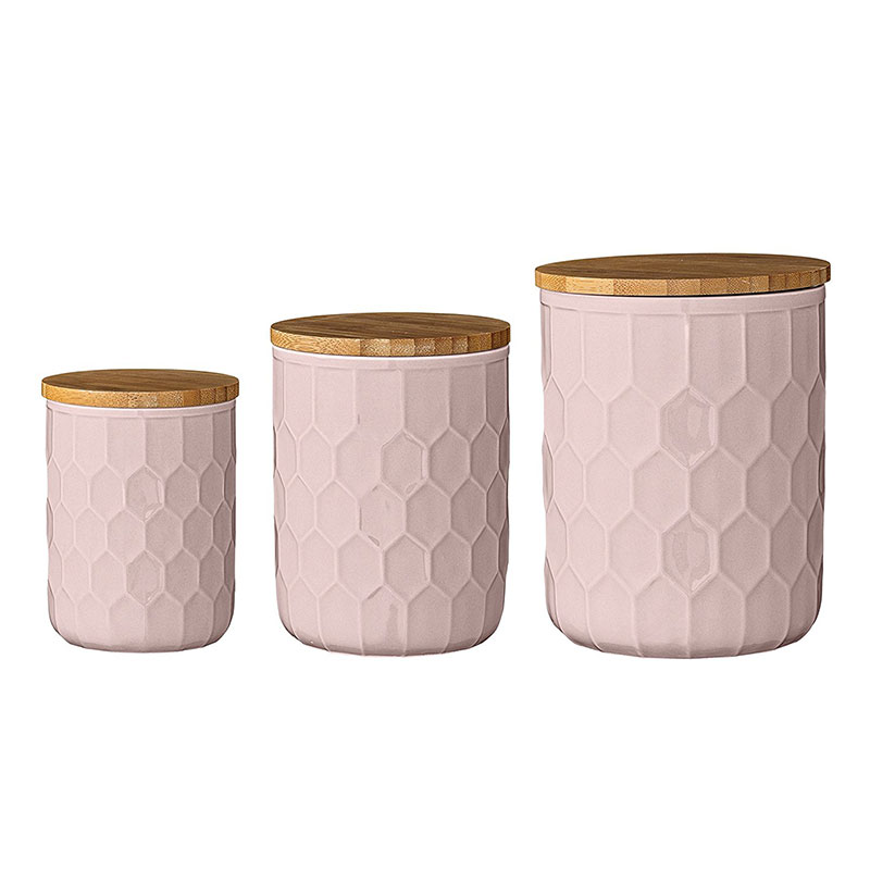 Bloomingville Ceramic Canisters