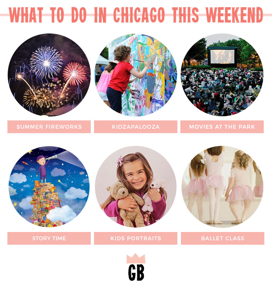 Movies in the park, Kidzapalooza and more!