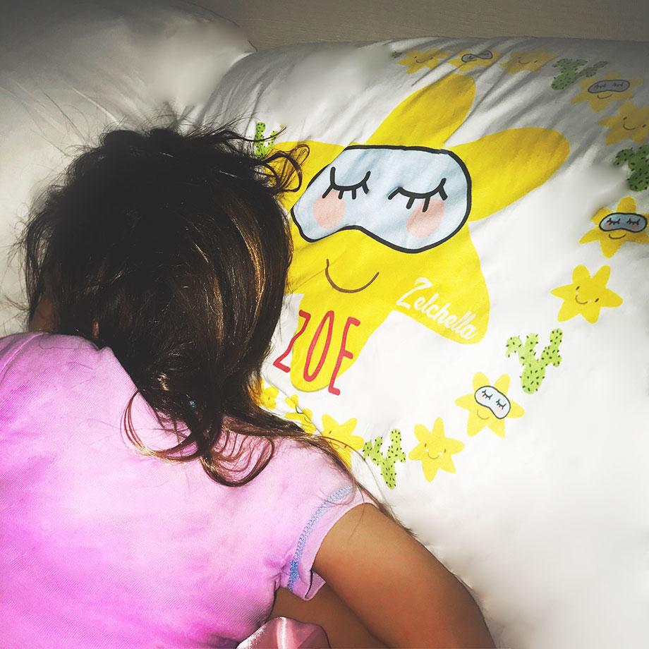 Zelchella sleepover with Psychobaby.