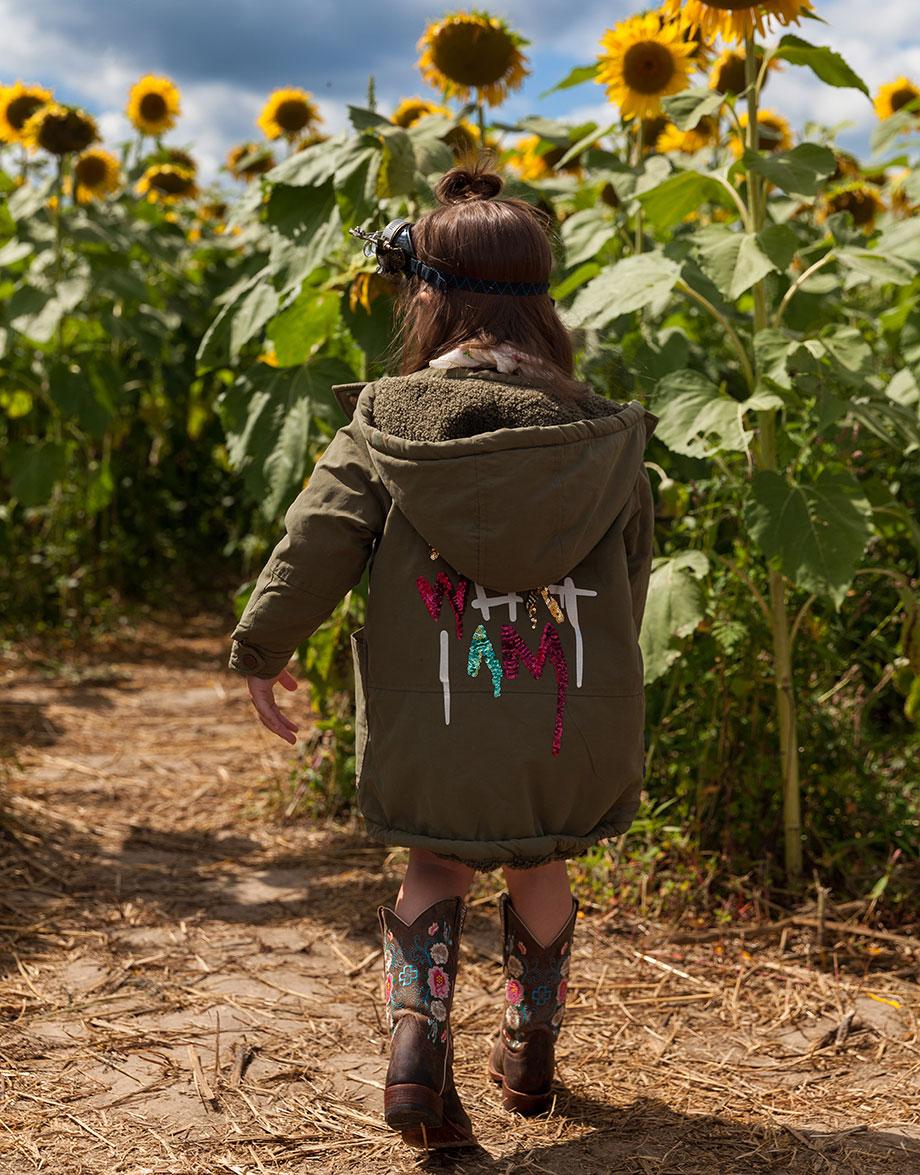 Burning Man fashion girls Zara sequin jacket.