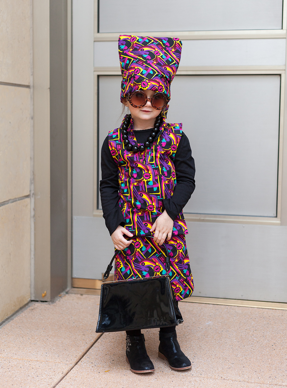How to dress your toddler in Advanced Style Halloween costumes.