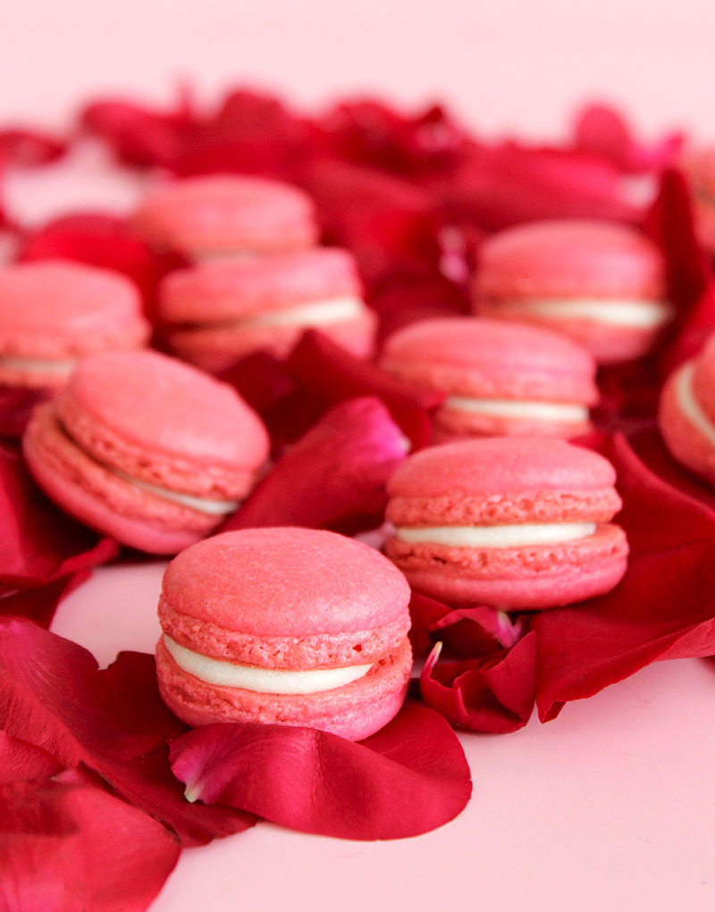 How to make French macarons at home.