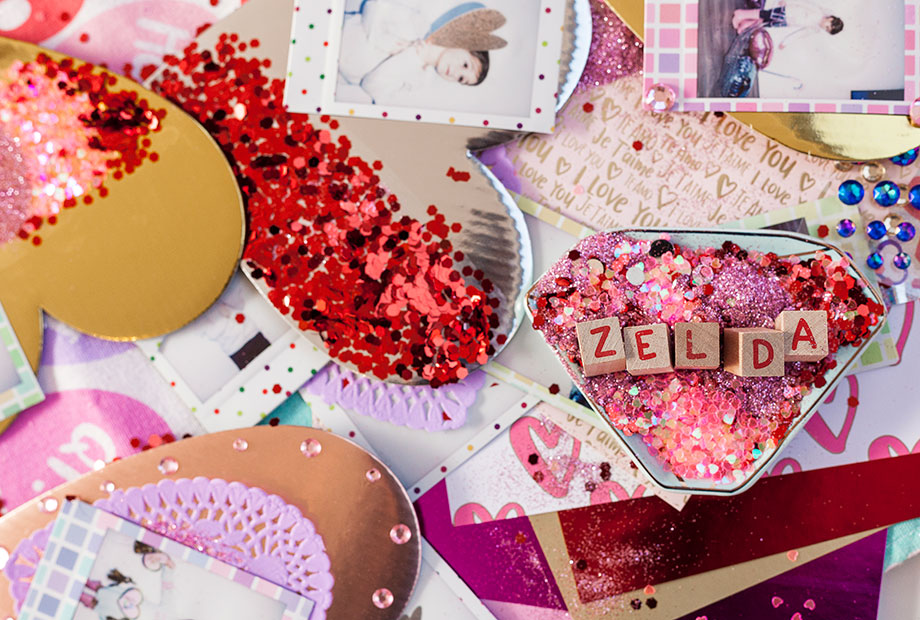 How to make Valentines at home.