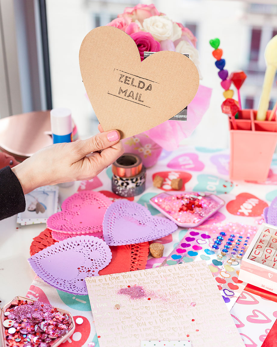 Crafts for Valentine's Day.