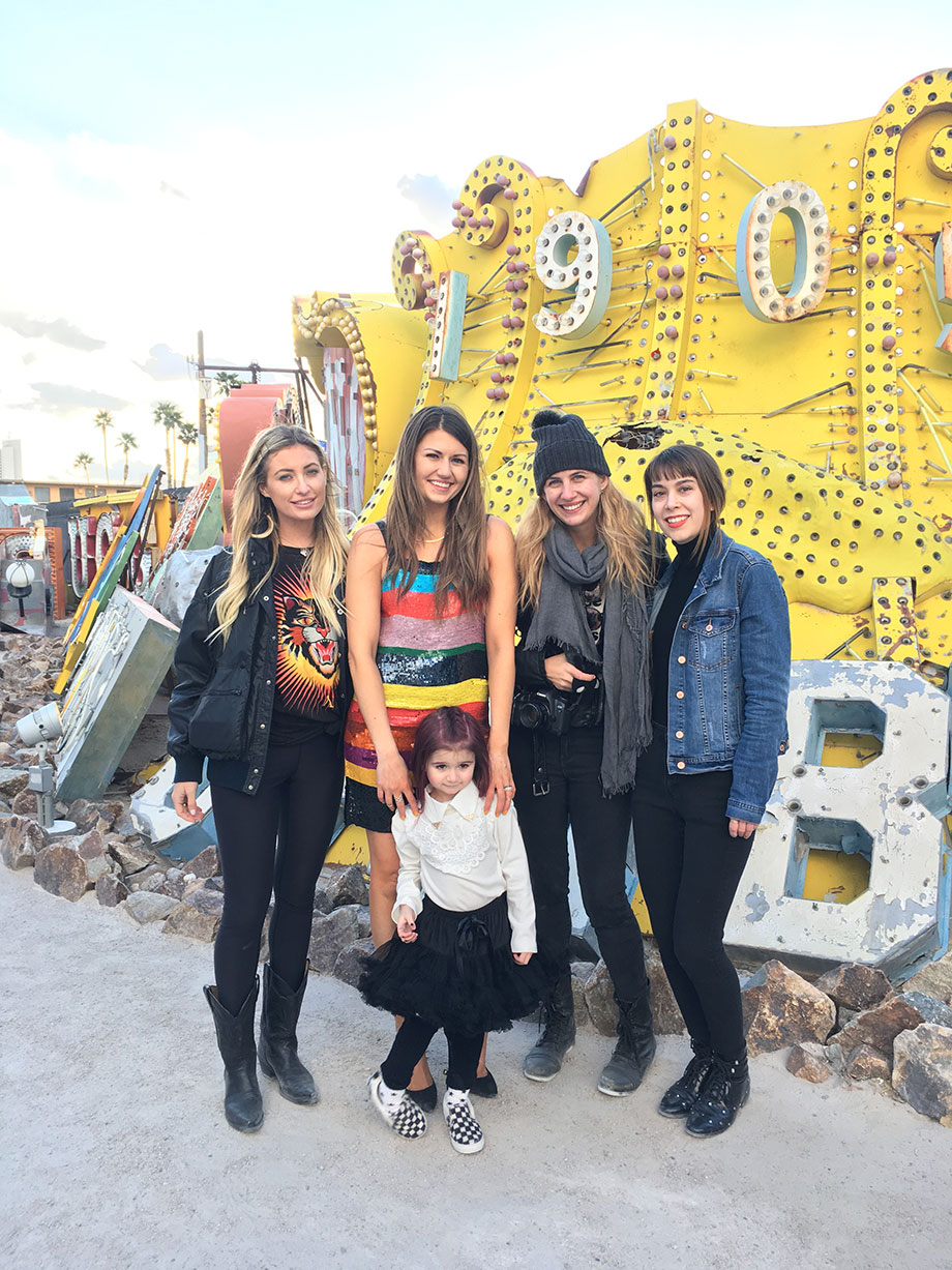 A Las Vegas Travel Guide featuring a girls trip to the Neon Museum.