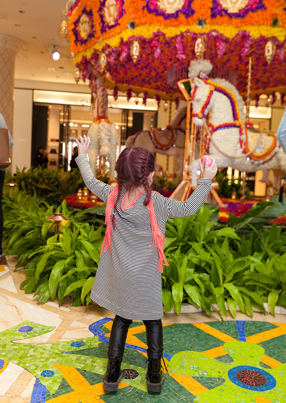 Zelda of Glitter and Bubbles visits The Wynn in Las Vegas.