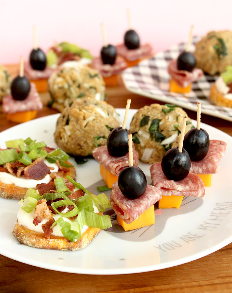 A recipe for a plate of delicious finger foods just in time for back to school on Glitter and Bubbles.