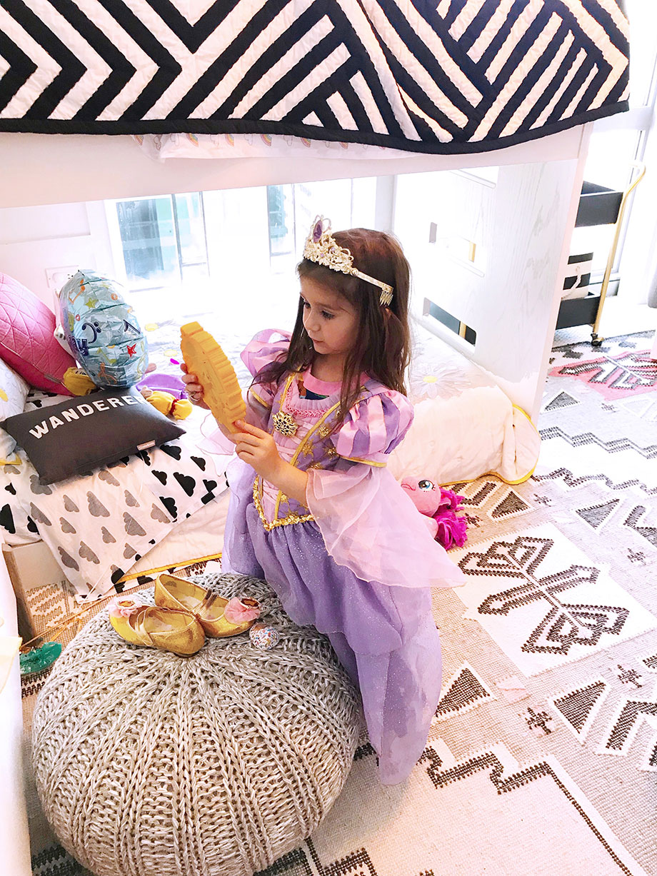How to create the perfect dress up chest for your child.