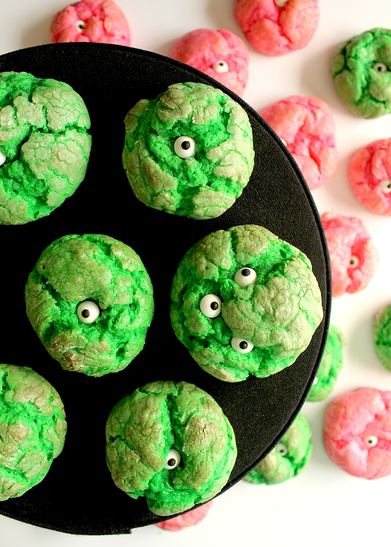 An easy recipe for One-Eyed Monster Cookies.