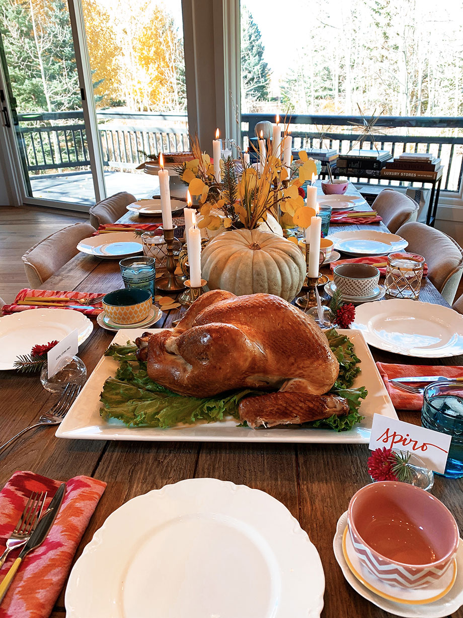 A delicious Thanksgiving meal from Boston Market.