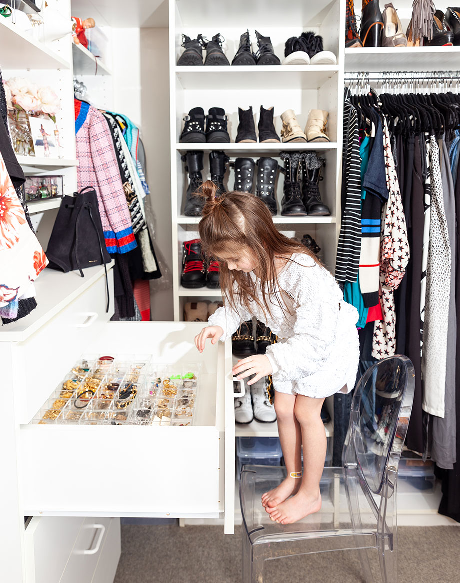 Corri McFaddens shows readers how to organize jewelry.