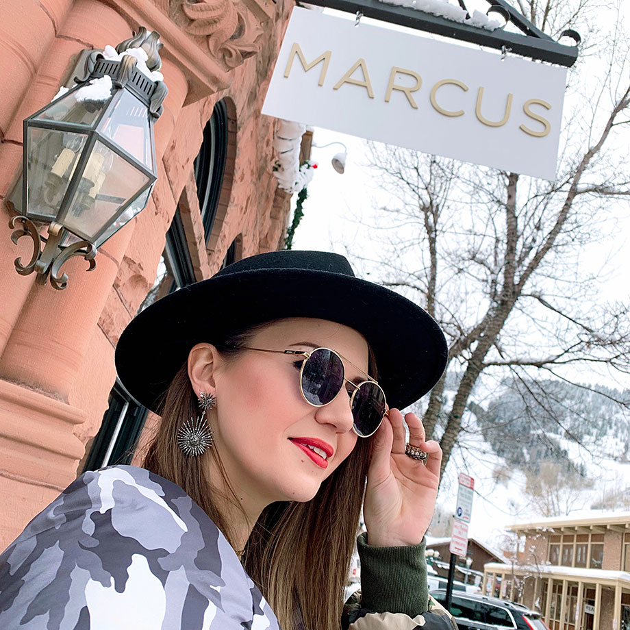 Corri McFadden shows readers where to shop in downtown Aspen.