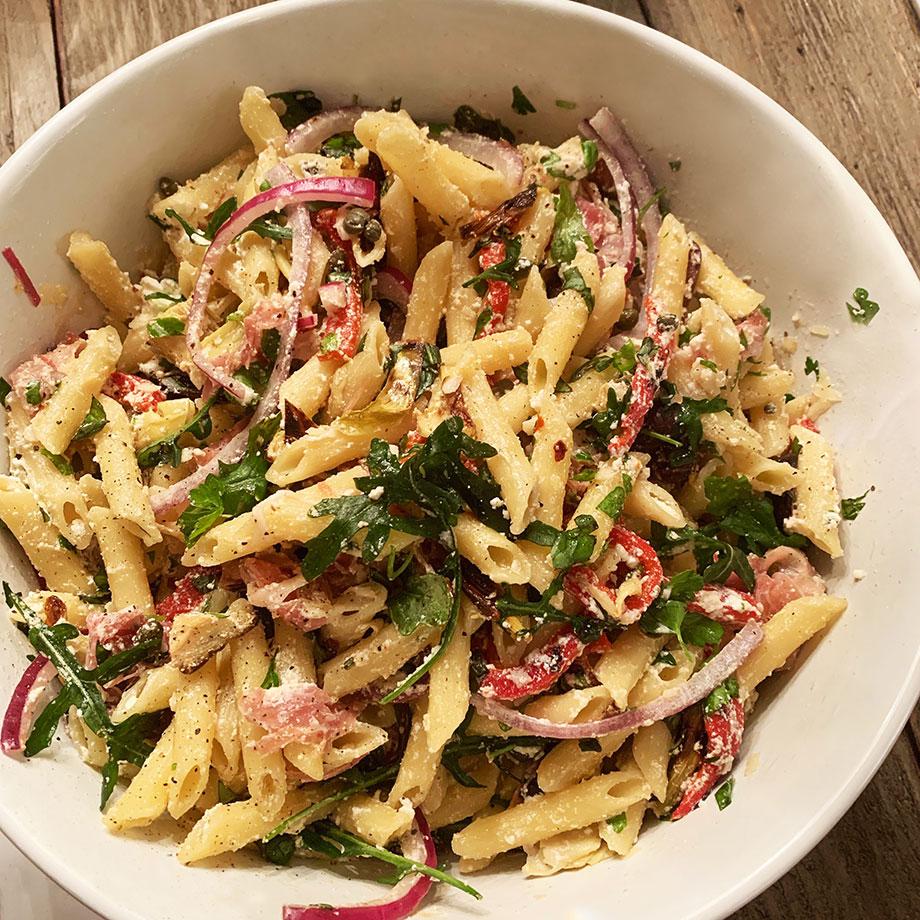 An easy recipe for pasta salad by Corri McFadden.