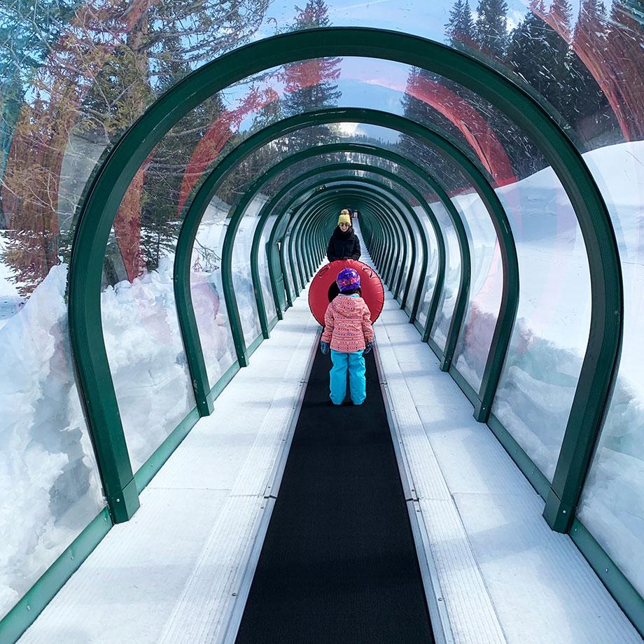 Where to go snow tubing in Aspen, Colorado.