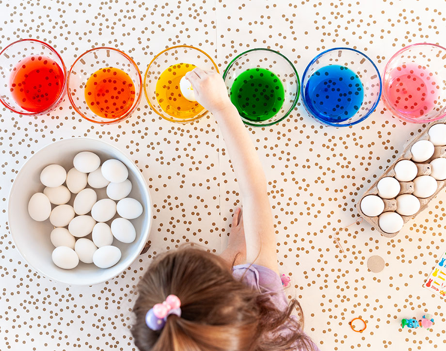 How to get the most from your Easter egg dying.