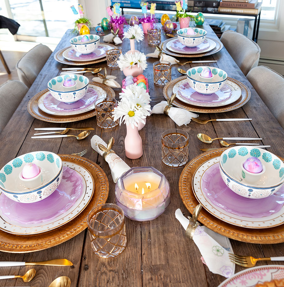 How to create the perfect Easter table.