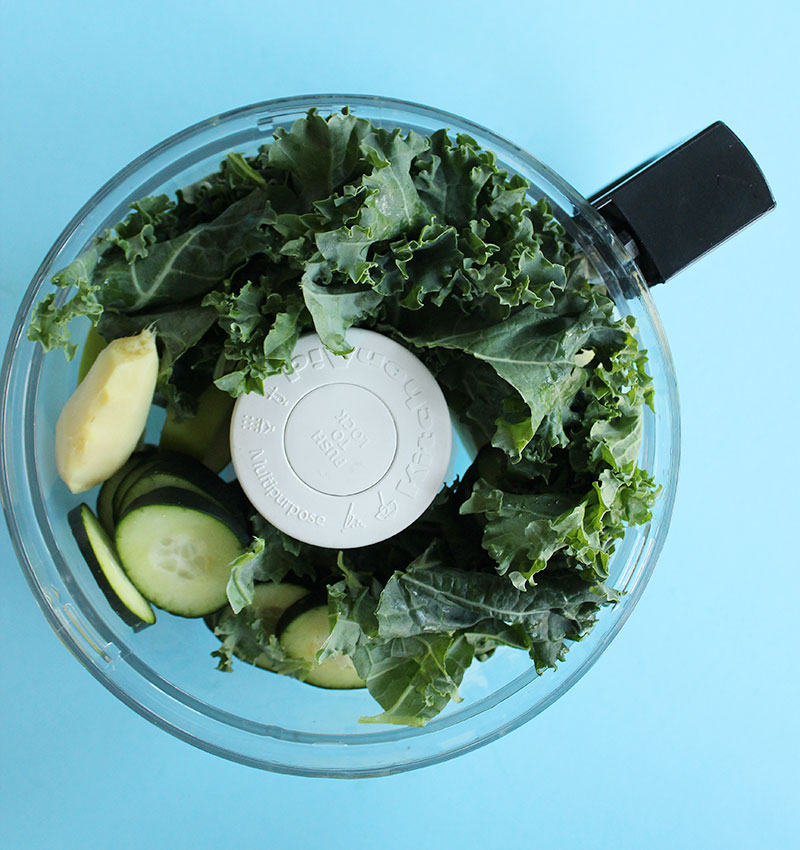 How to make juice using a food processor.