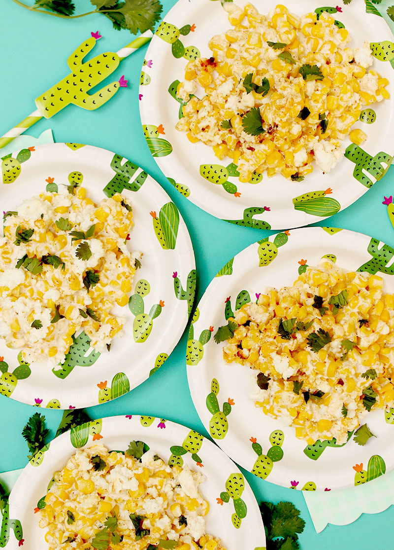 What to serve at your next summer dinner party: Mexican Street Corn Casserole.