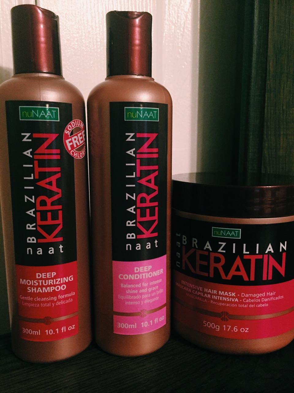 nuNAAT Brazilian Keratin Hair Mask