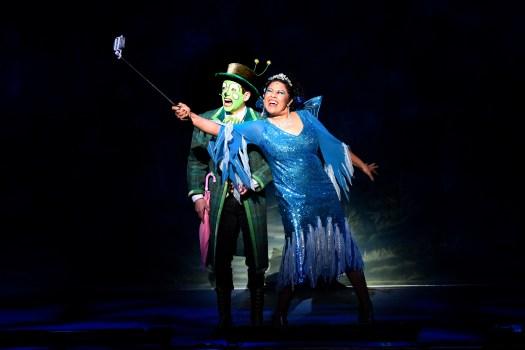 Mark Tatham (Cricket) & Ilse Klink (Bella, Blues Fairy)