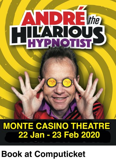 Poster 2 - Andre The Hilarious Hypnotist