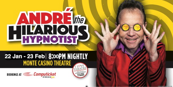 Poster - Andre The Hilarious Hypnotist
