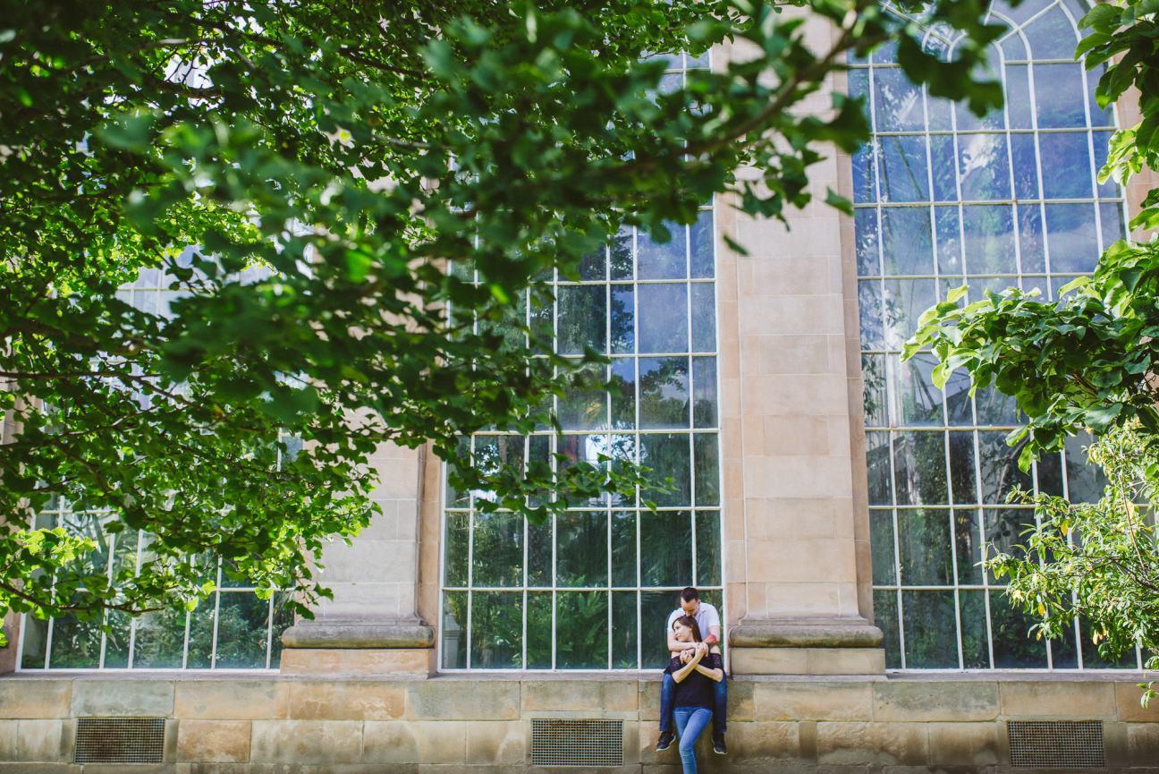 Engagement Shoot at the Royal Botanic Gardens
