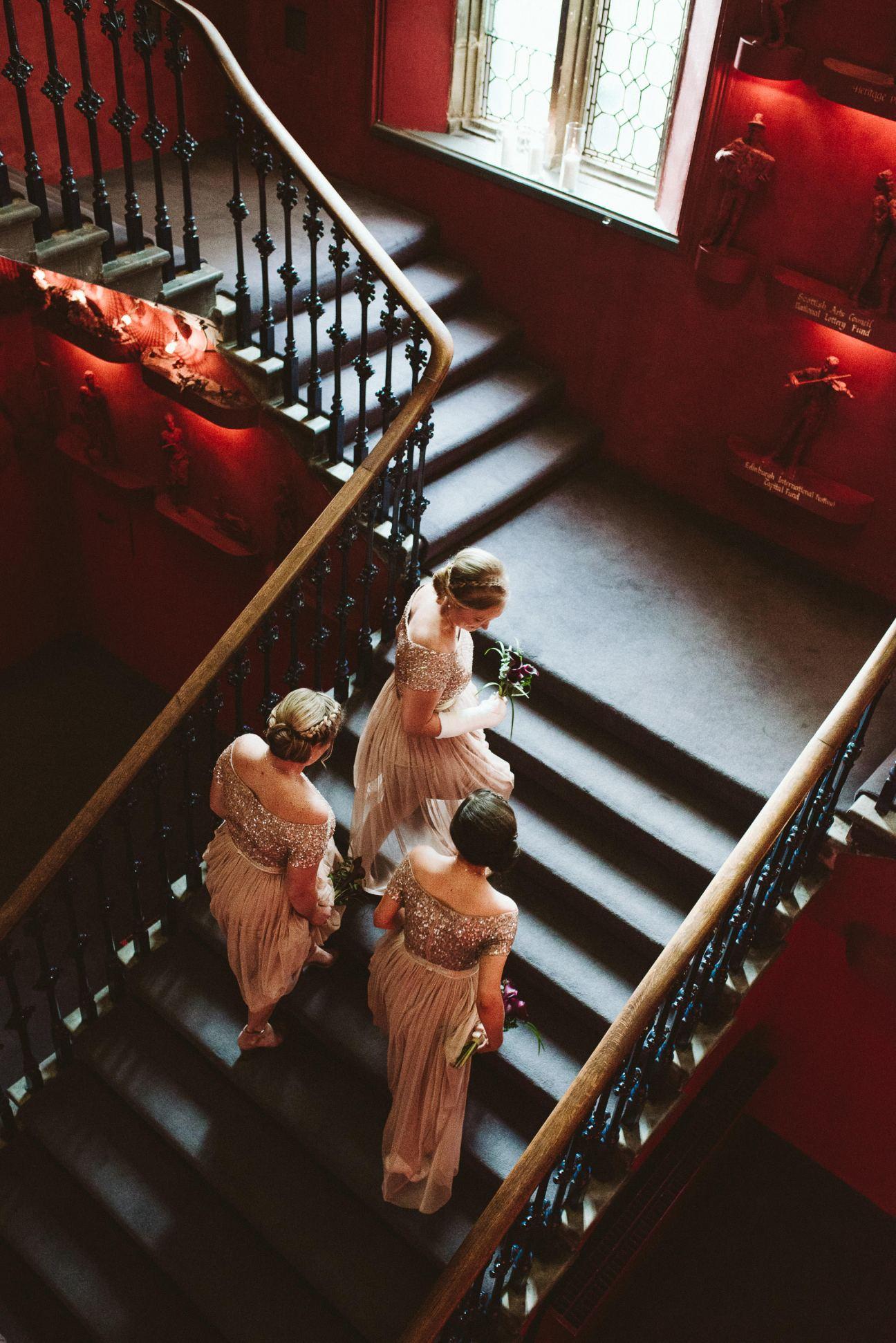 Bridesmaids at the Hub Edinburgh