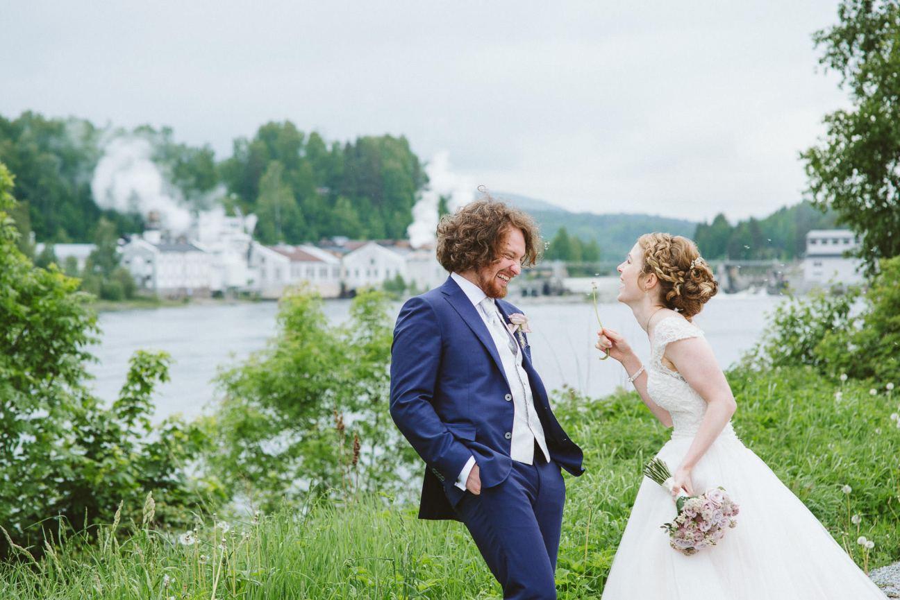 Wedding in Hokksund, Norway