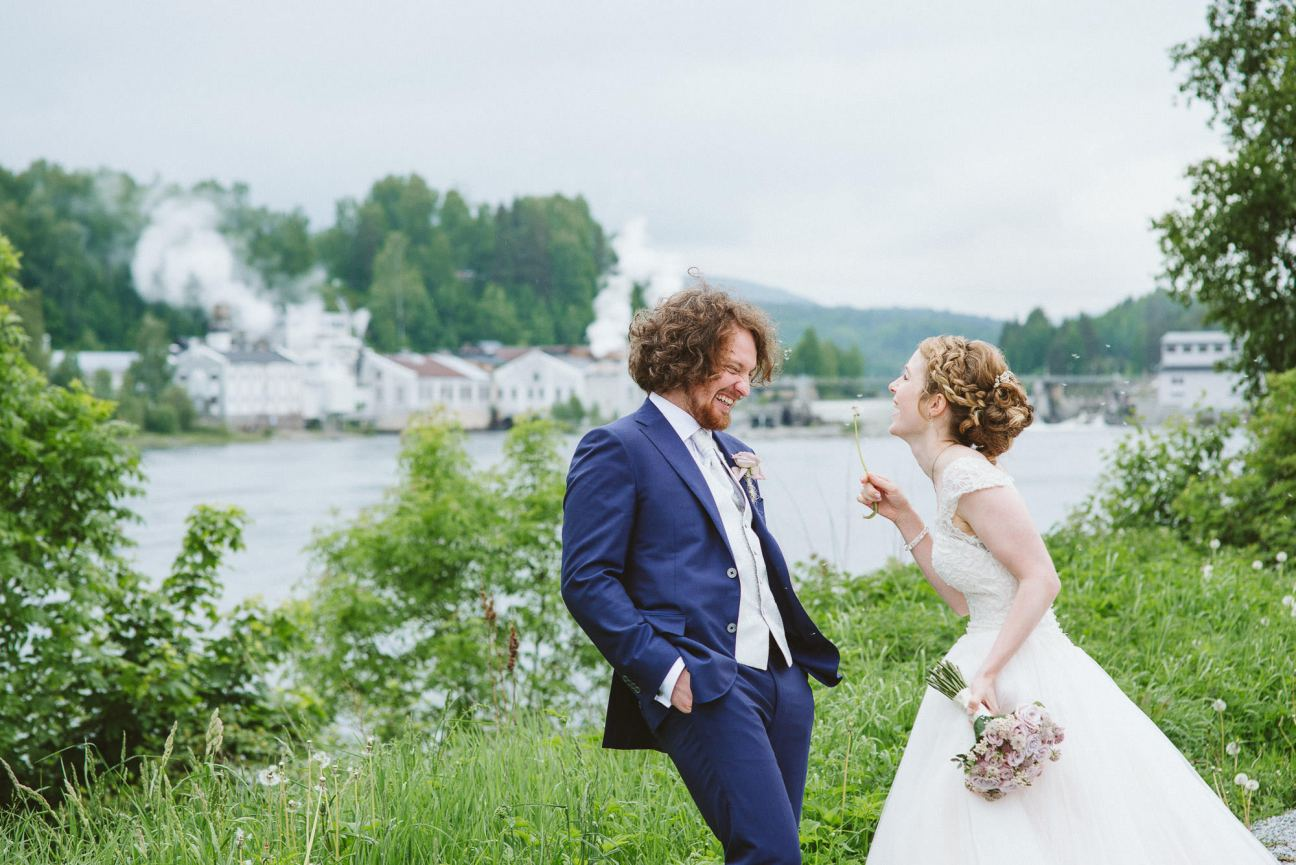 Wedding in Hokksund, Norway