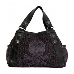 Loungefly Purple Sugar Skull Bag
