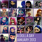 A Doll A Day 2013 – January