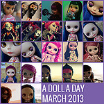 A Doll A Day March 2013