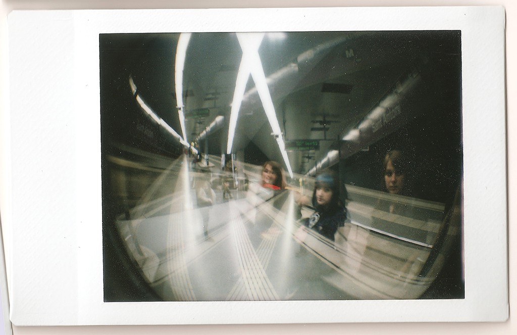 Catherine & Me - Underground Multiple Exposure