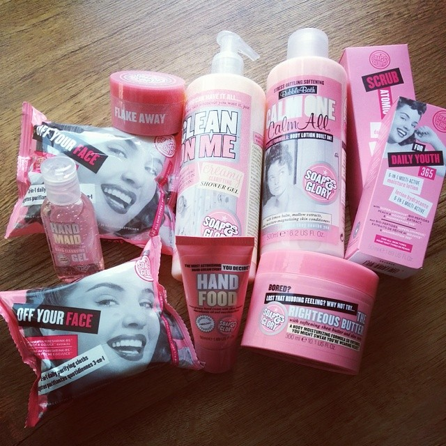 Soap & Glory Haul