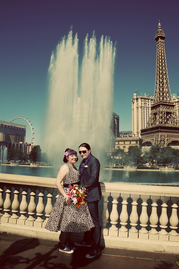 Las Vegas Bellagio Fountain Wedding