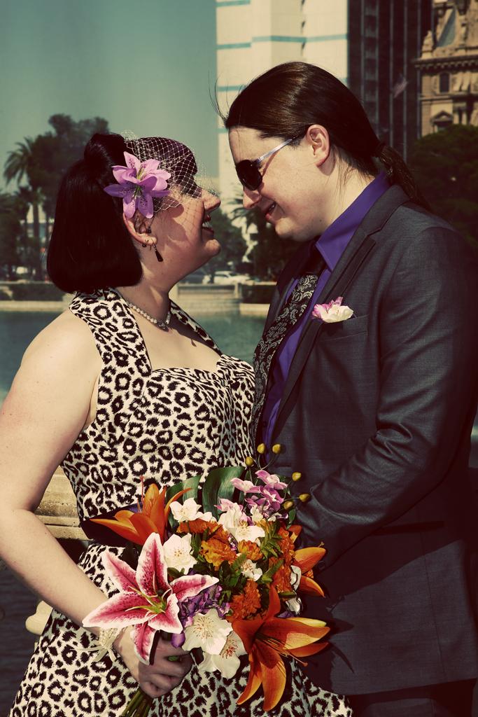 Las Vegas Wedding Portrait