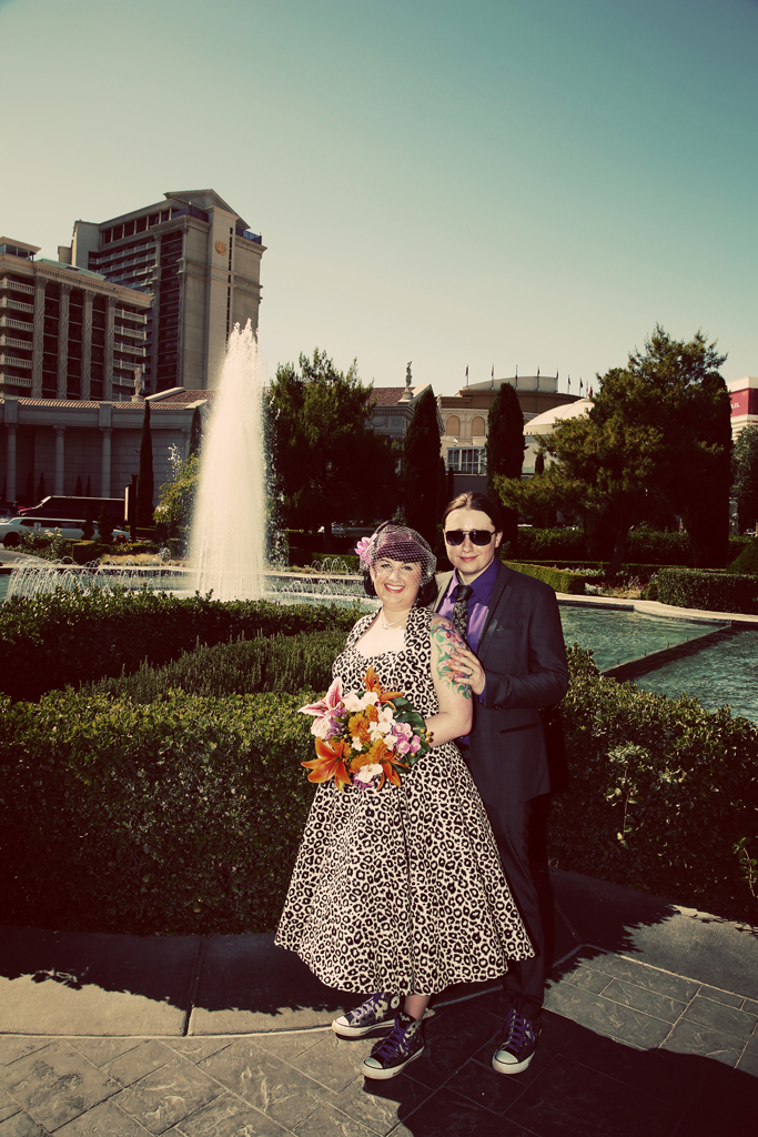 Caesar's Palace Las Vegas Wedding