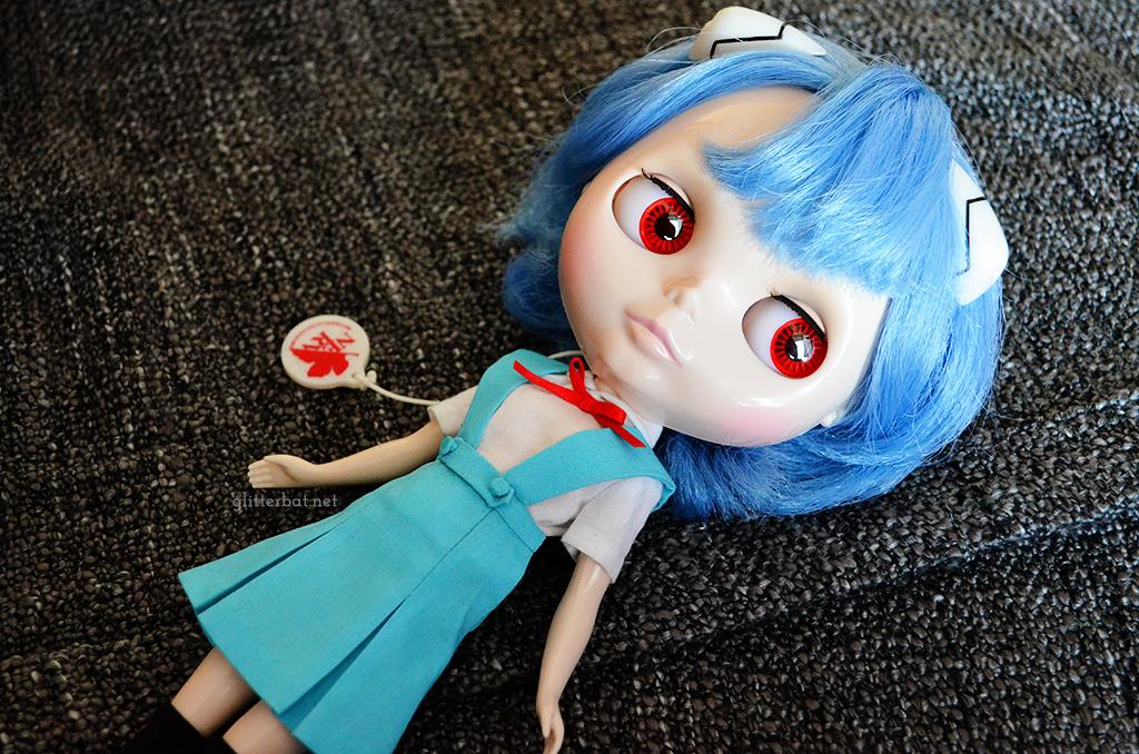 Ayanami Rei x Blythe – Custom School Uniform