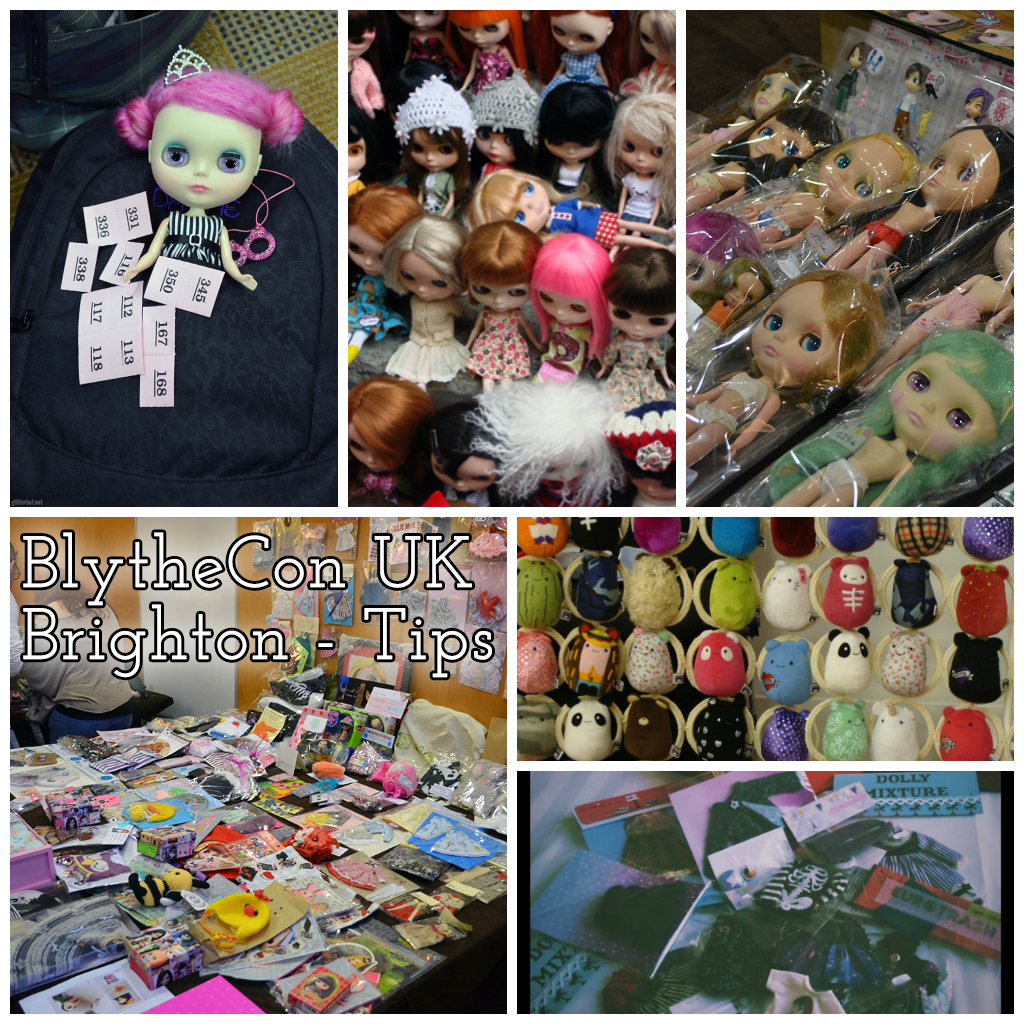 BlytheCon UK Brighton - Tips
