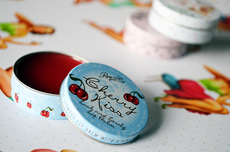 Rose & Co. Cherry Kiss Lip Balm