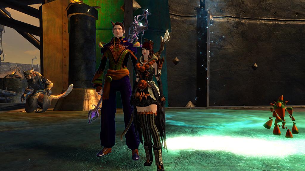 Guild Wars 2 Halloween Elementalists