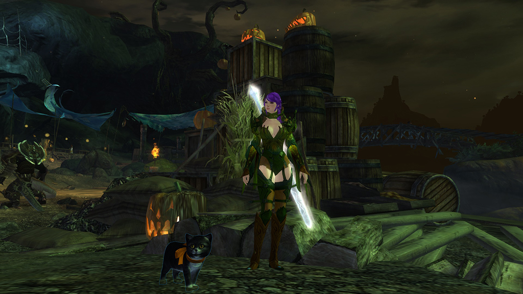 Guild Wars 2 Halloween Mini Zuzu
