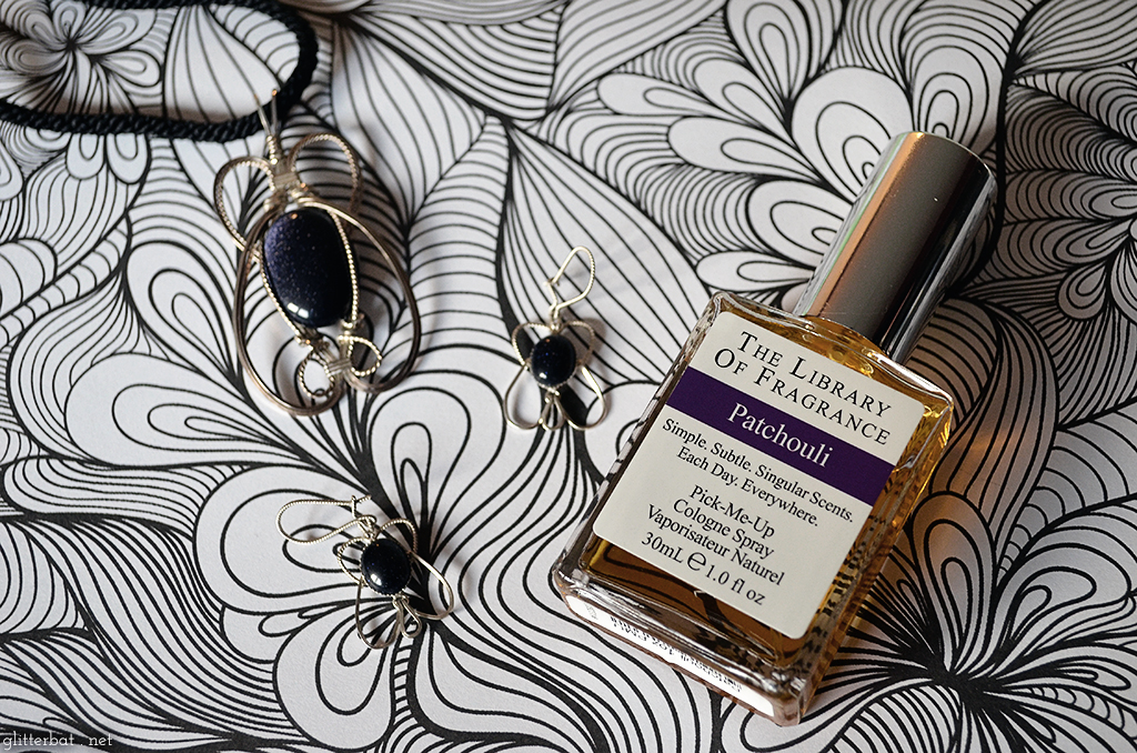 Review: The Library of Fragrance – Patchouli