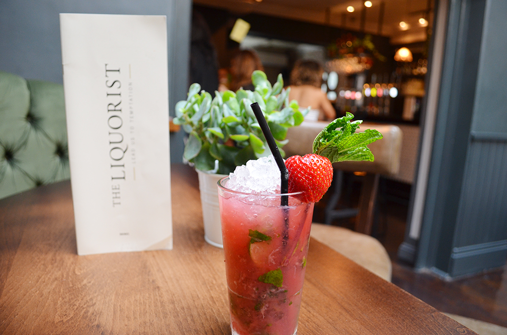 The Liquorist Leeds - Strawberry Mojito