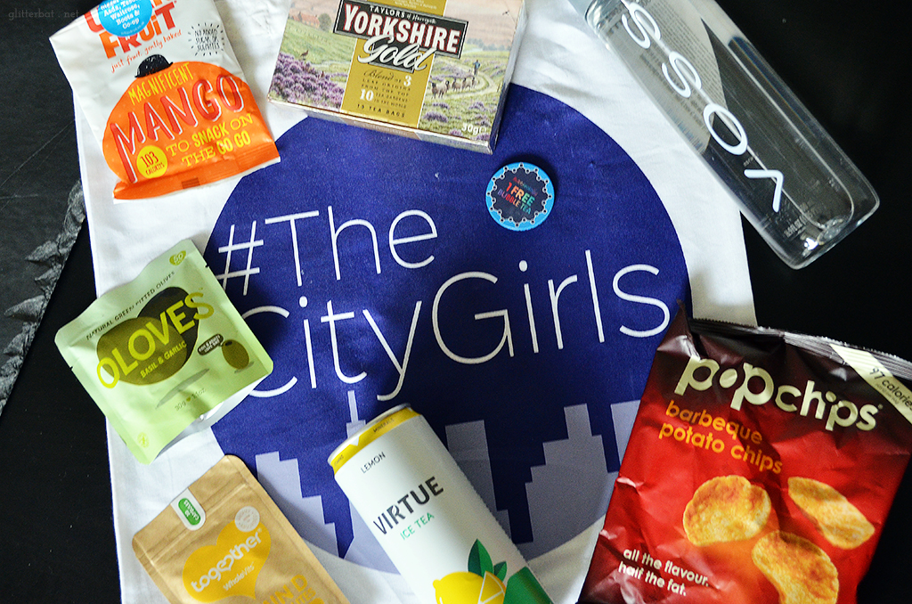 #TheCityGirls Leeds Goodie Bag