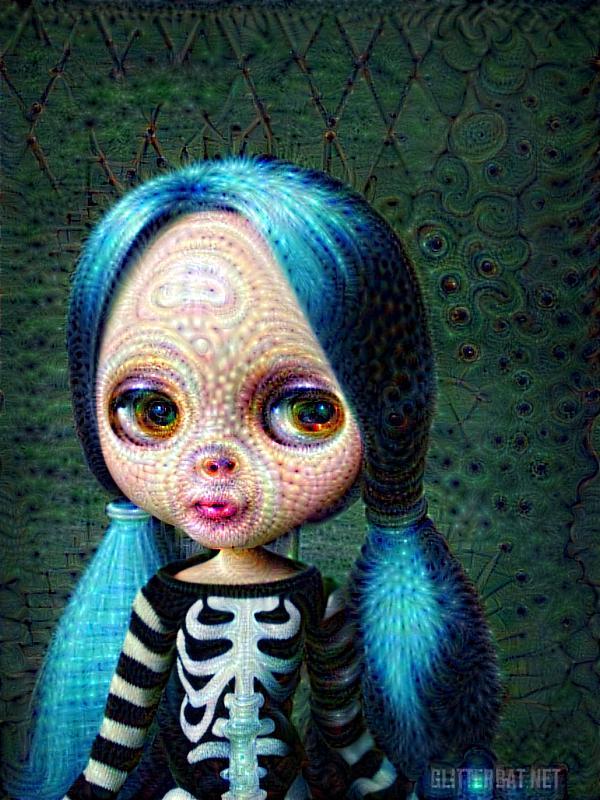 Google Deep Dream & Blythe Dolls
