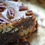 Amaretto Pecan Brownies Recipe